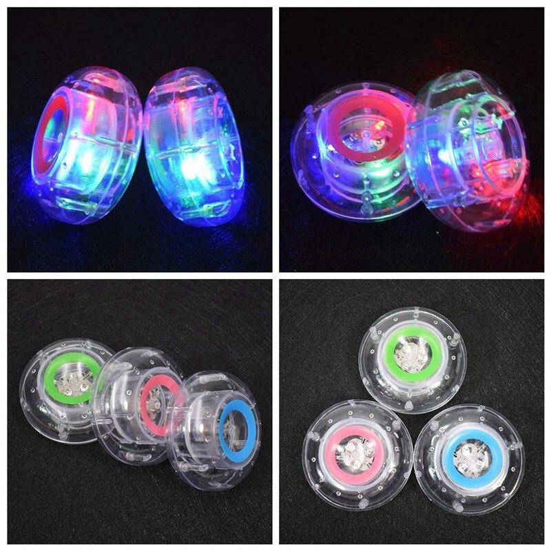1 шт. Цвет случайный бассейн свет плавающие Подводные Светодиодный glow показать Бассейны Ванна лампы Ванная комната светодиодный свет детск...
