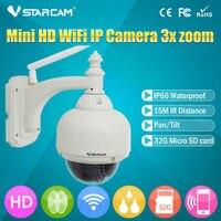 VSTARCAM Onvif Sans Fil IP Caméra Extérieure HD 720 P WIFI PTZ Dôme CCTV de Sécurité Avec 4 Optique Zoom Soutien 128G SD Carte IP Cam