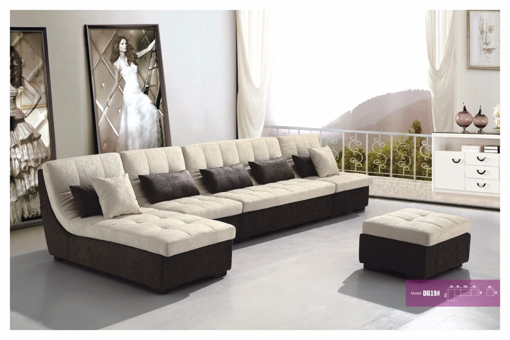 Free Shipping Fabric Sofa Furniture French Design 2015 New