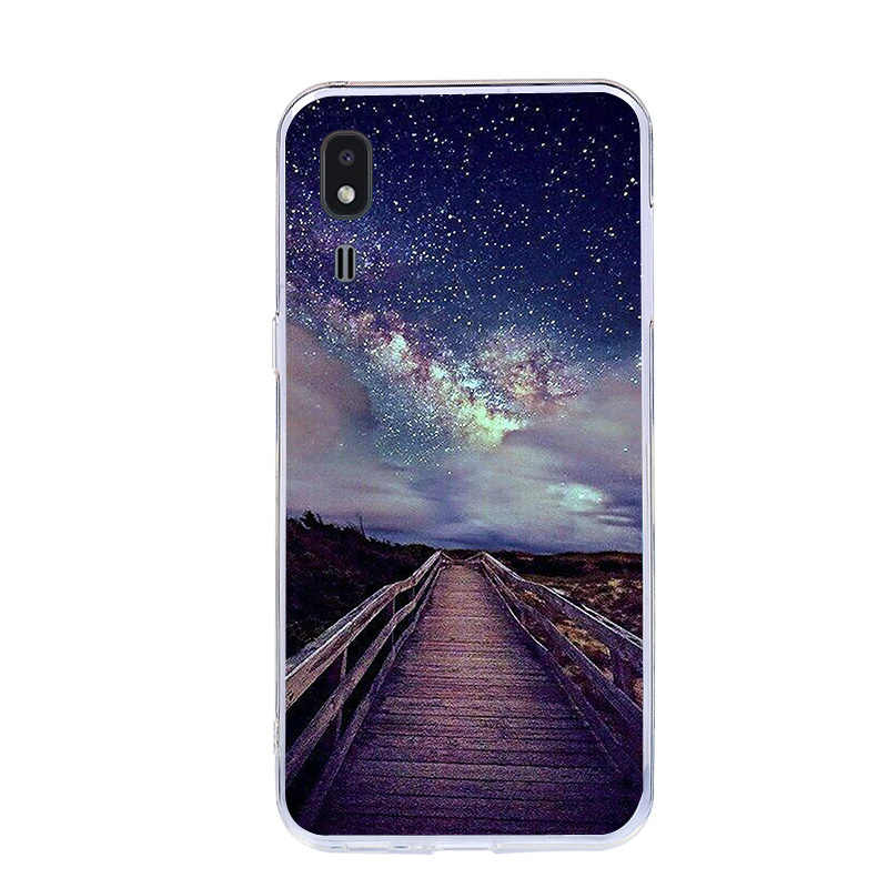 Painted Cover For Samsung Galaxy A2 Core Case Silicone Soft TPU Cases For Samsung A2 Core Phone Bags Cute Animal Shell