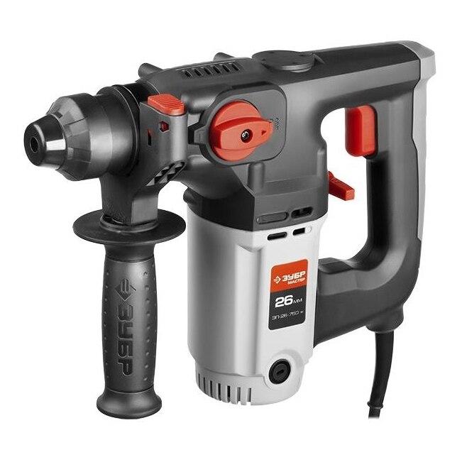 Electric hammer drill BISON ЗП-26-750 EQ (speed 1000ob/min 4800 beats per minute) electric hammer drill redverg rd rh650 no load speed 1200 rpm 5500 beats per minute