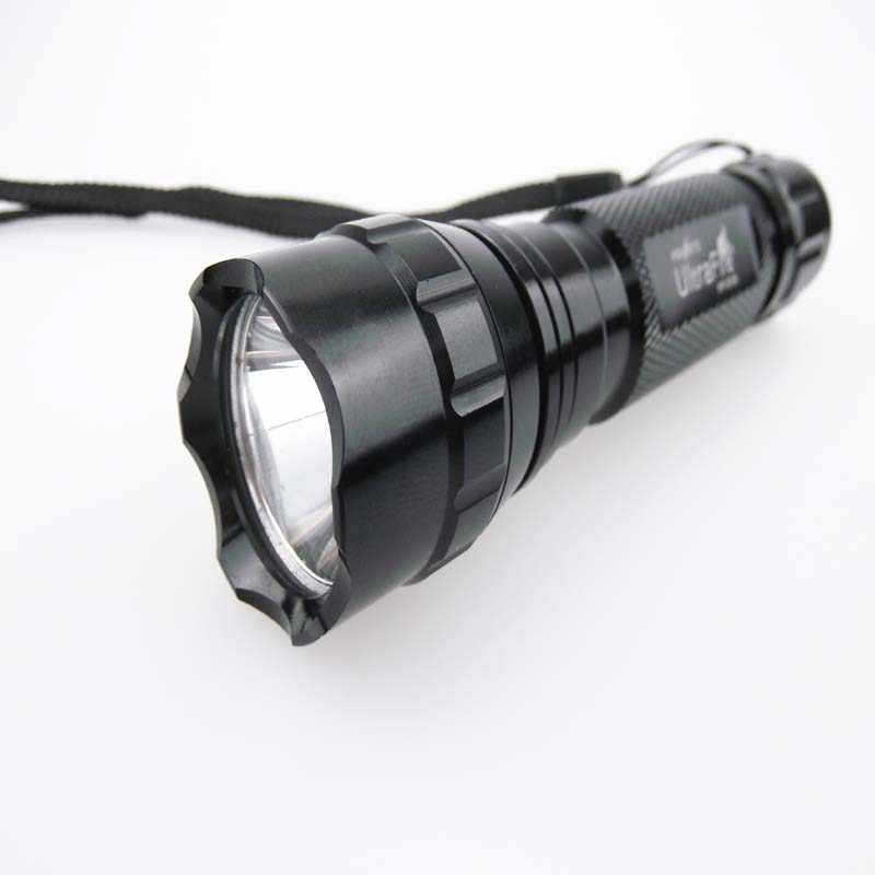 בהיר טקטי לפיד מנורת LED 501B CREE XM-L2 1600LM U3 מגניב בעת אור OP 1-mode פנס LED לקמפינג ציד