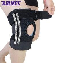 AOLIKES 1 piece Mountaineer knee pads fitness rodillera support Sports Safety kneepad rodilleras deportivas protetor de joelho