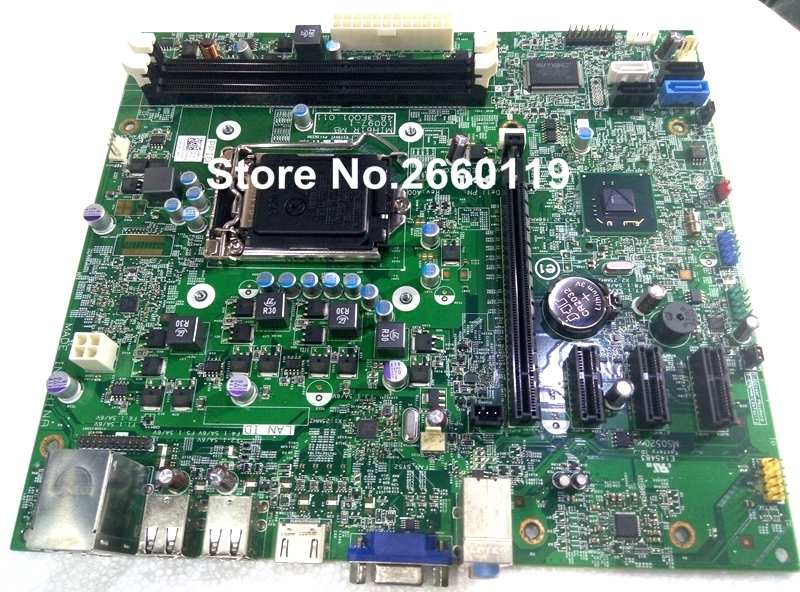 ФОТО 100% Working Desktop Motherboard For Dell 620 390 3010 GDG8Y M5DCD 42P49 System Board Fully Tested