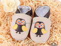 retail baby 100% Head Layer Cow shoes soft leather infant shoes Little yellow owl designed baby shoes toddler shoes