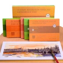 Barteen хлопок профессиональная Акварельная бумага 20 листов ручная роспись Акварельная книга для художника студента все эскизы