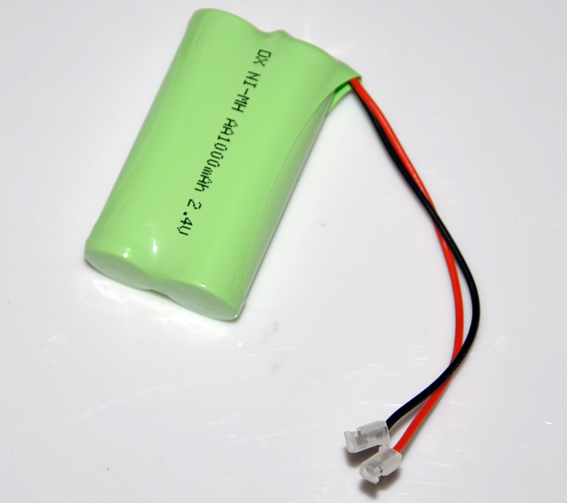 3PCS 2.4V AA 1000mah rechargeable battery pack 2A ni-mh nimh batteries NI MH cell for RC toys emergency light cordless phone B