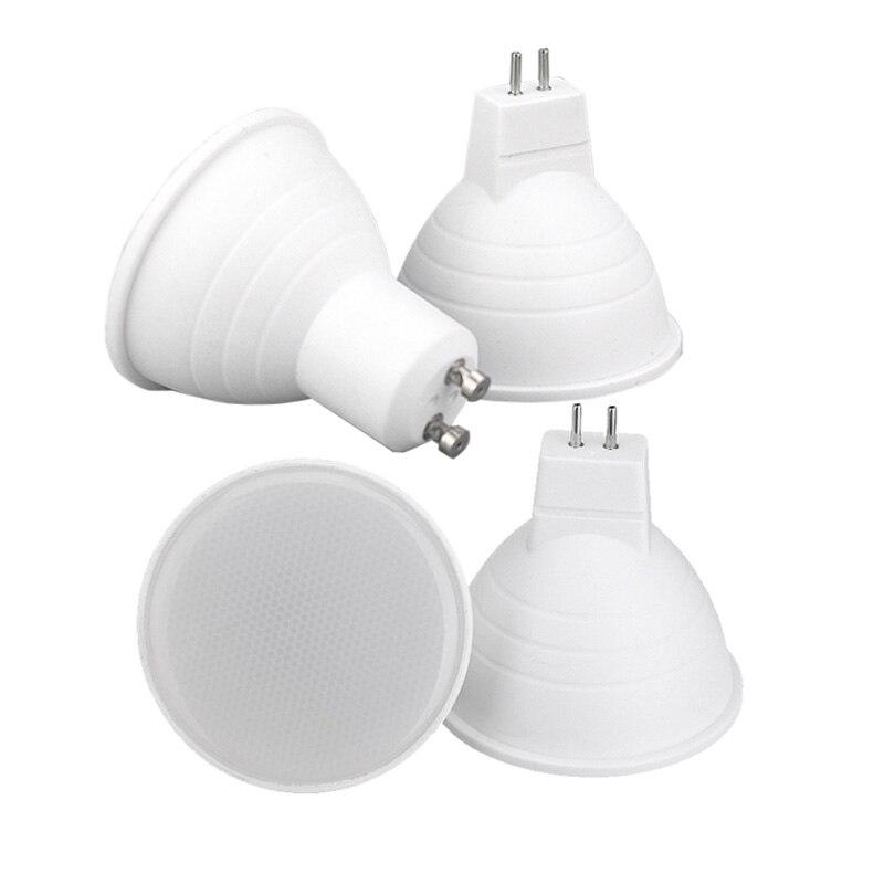 LED Spotlight 3W 6W Led Lights GU10 GU5.3 220V MR16 DC12V SMD 2835 Led Bulb Warm White Cold White Lampada Led Lamp Indoor Light