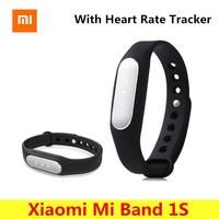 Xiaomi Mi Band 1S Wristband IP67 Waterproof Bluetooth Fitness Tracker Smart Bracelet Band Heart Rate Sport
