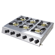 6 головок, 8 головок многофункциональное газовое оборудование для приготовления пищи все кастрюли из нержавеющей стали тушеное/Лапша кухонное оборудование