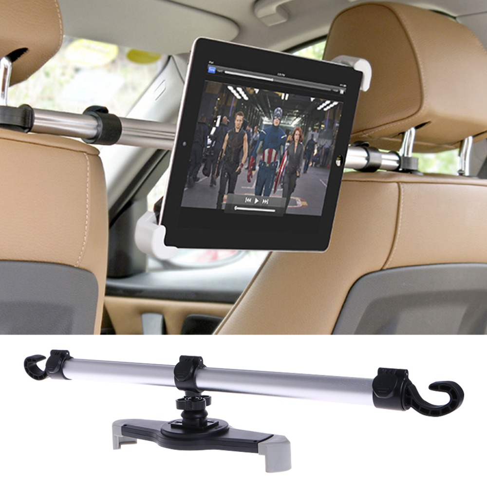 1Pc Universal Car Tablet Stand Aluminum Alloy Car Back Seat Mount Stand Holder For Tablet 7-11 Inch1Pc Universal Car Tablet Stand Aluminum Alloy Car Back Seat Mount Stand Holder For Tablet 7-11 Inch