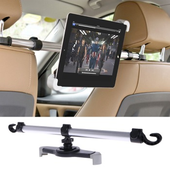 цена на 1Pc Universal Car Tablet Stand Aluminum Alloy Car Back Seat Mount Stand Holder For Tablet 7-11 Inch