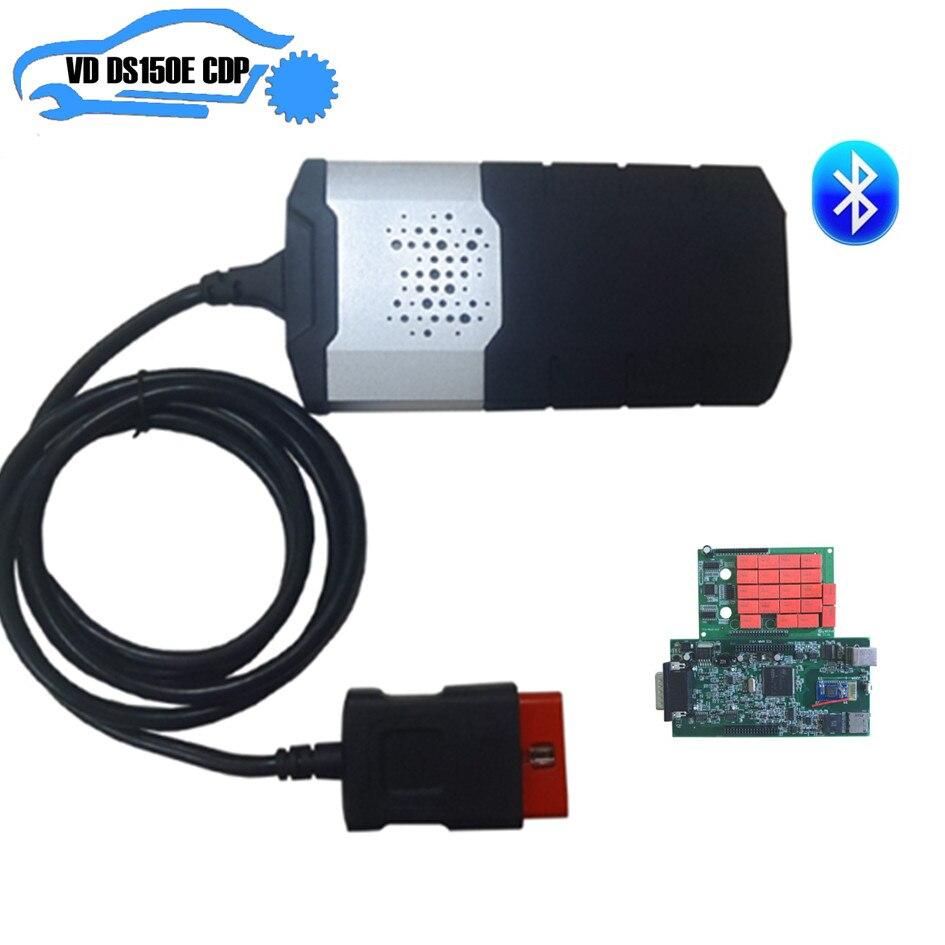 201503 keygen Adapter tcs pro Autos Diagnose Interface Tool Neue VCI VD ds150e CDP Volle set8 Auto Kabel für delphis für autocoms