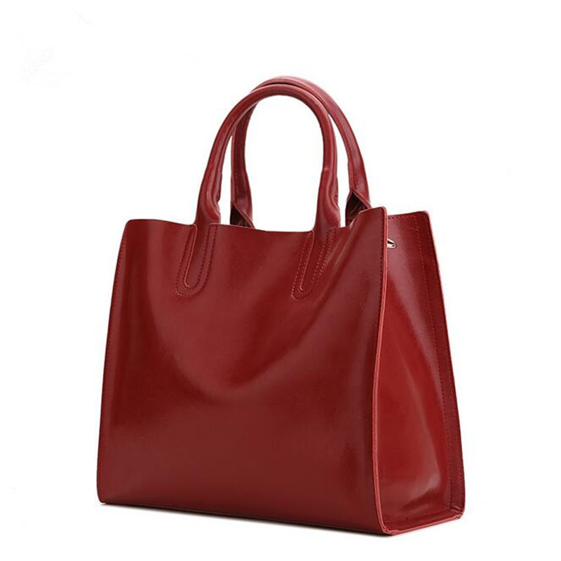 New Fashion Women Genuine Leather Handbag Vintage Large Bags Shoulder Bag Crossbody Bag Cowhide Casual Tote Messenger Bag fashion genuine leather bag bolsas tassel women handbag 2015 casual crossbody bag popular shoulder bag new women messenger bags