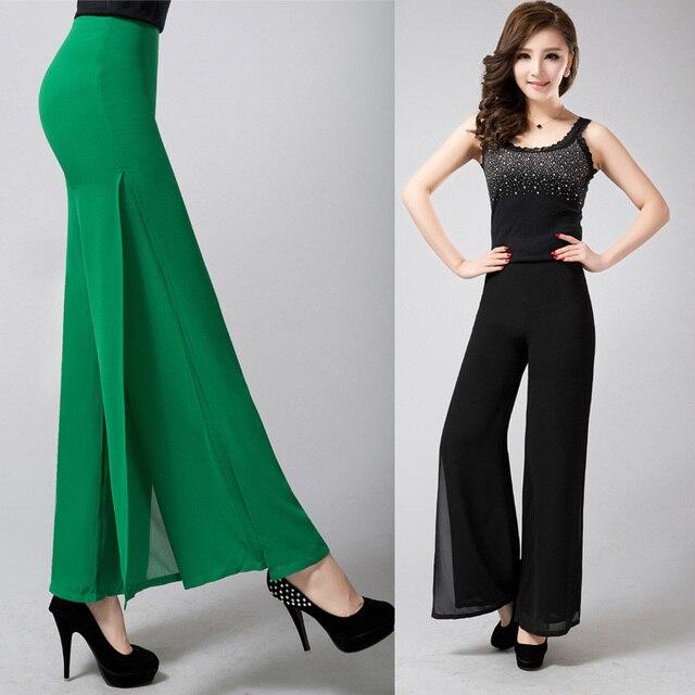Aliexpress Buy 2016 New Flare Pants Wide Leg Women Plus Size