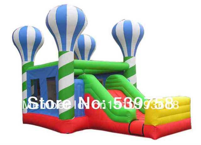 Castillos inflables directas de la fábrica, juguetes inflables, Inflable tobogán