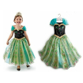 2017 Elsa Anna Kids Halloween Role-Play Dress For Girl Kids Clothes Children Costume Dresses Girls Sofia Princess Dress Vestidos