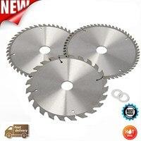 Drillpro 3pcs 210mm TCT 24 48 60T Circular Saw Blade Wood Aluminum Cutting Saw Blades General