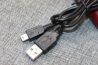 200pcs length 80cm 0.8M Black USB 2.0 A Male to Mini 5 Pin B Data Charging Cable Cord Adapter