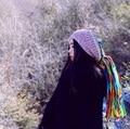 Dread Lock Knitted Beanie Pure Wool Colorful Wigs Crochet Hat Winter Handmade Dreadlock Hippy Hats