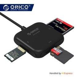 ORICO 4 in 1 USB 3.0 Lettore di Smart Card Flash Multi Memory Card Reader per TF/SD/MS /CF 4 Card di Lettura e Scrittura Contemporaneamente