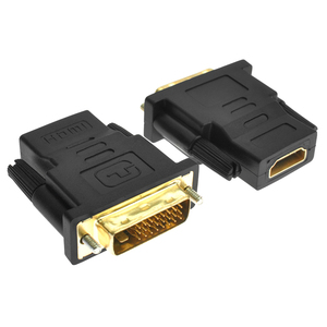 Image 3 - AMKLE  24+1 Pin DVI HDMI Adapter Gold Plated HDMI/F to DVI/M Video Converter 1080P for PS3 Projector HDTV