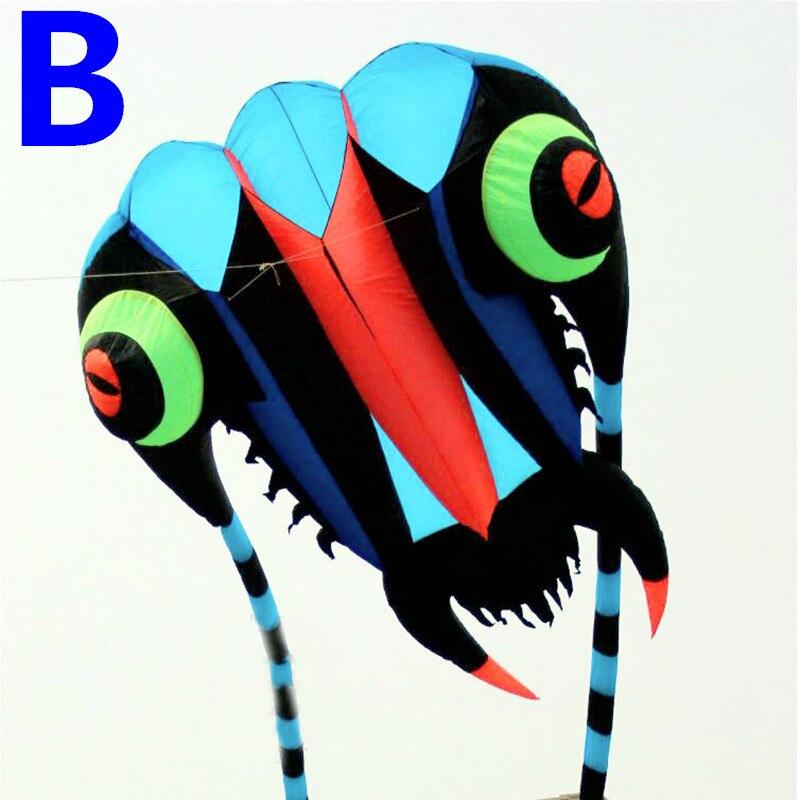 gratuit de transport maritim nou design 7sq.m trilobite moale kite - Sport și în aer liber - Fotografie 3