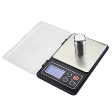 Digital Kitchen Scale Mini Pocket Stainless Steel Precision Jewelry Electronic Balance Weight Gold Grams Food Scale 500G 0.01G 500g 0 01g digital scale precision balance electronic kitchen jewelry portable lcd weighting tools diamond pocket weight scale
