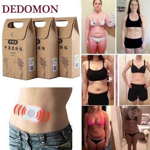 Chinese Medicine Strongest Weight Loss Navel Stick Magnetic Slim Fat Burning Slimming Diets Slim Patch Pads Detox Adhesive Sheet
