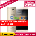 "Оригинал Lenovo Vibe P1 Pro 4G FDD LTE Мобильный Телефон Snapdragon Octa-core Dual SIM 5.5 ""FHD 3 Г RAM 16 Г ROM 13 М Отпечатков Пальцев 5000 мАч"