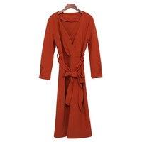 Xxxxl שמלת צווארון v החדש אופנתי לנשים גודל plu