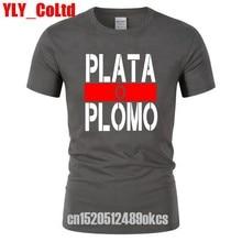 2019 ropa de verano ropa de Plata O Plomo T camisas hombres Narcos Pablo T  camisa Escobar Plata O Plomo camiseta Hip Hop O camis. 7e2c40d39e5