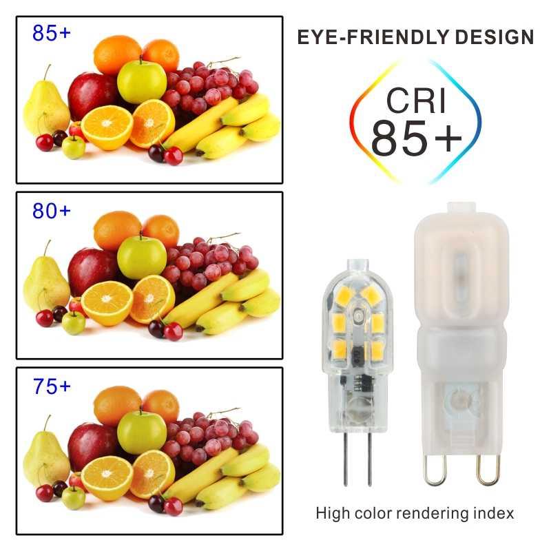 LED Bulb 3W 5W G4 G9 Light Bulb AC 220V DC 12V LED Lamp SMD2835 Spotlight Chandelier High Quality Lighting Replace Halogen Lamps