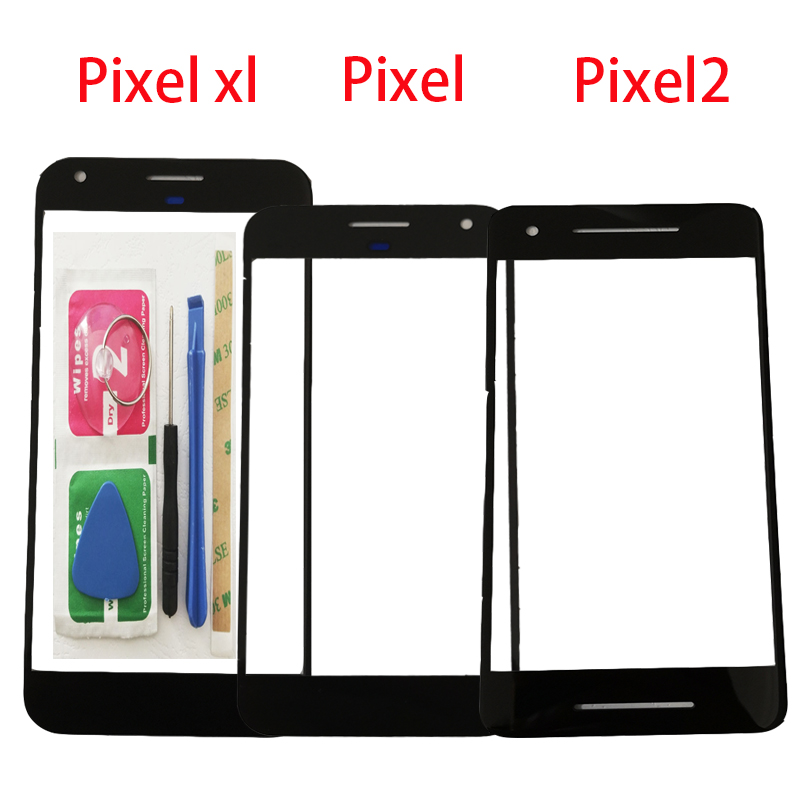 ZUCZUG Front Outer Front Glass For Google Pixel / Pixel XL / Pixel 2 Front Outer Panel+Repair Tools