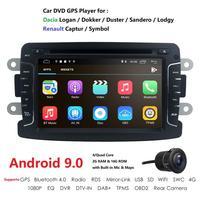 IPS DSP Car Multimedia dvd player Android9.0 GPS audio For Duster/Captur/Lada/Xray 2/Logan 2/Dacia/Sandero car radio stereo wifi