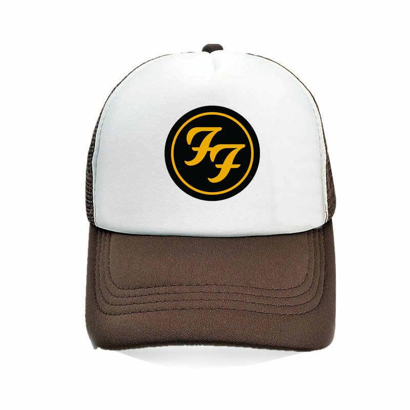 f430a8e2810 ... American Rock Band FF Men s Bucket Hat Foo Fighters Men Brand Cap  Roswll Foo Fighters Figure ...