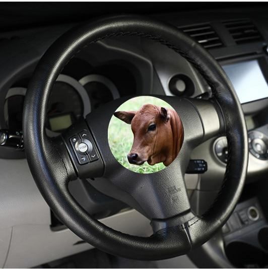 Coût de performance élevé Couvre-volant O SHI CAR / Couvertures en - Accessoires intérieurs de voiture - Photo 3
