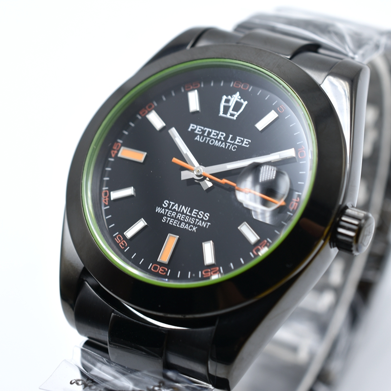 PETER LEE Nautilus Review | Mens Luxury Watches | Luxury Brand Male Clocks Full Steel Band 40mm Waterproof Automatic Mechanical Classic Elegant Business Men Wristwatch