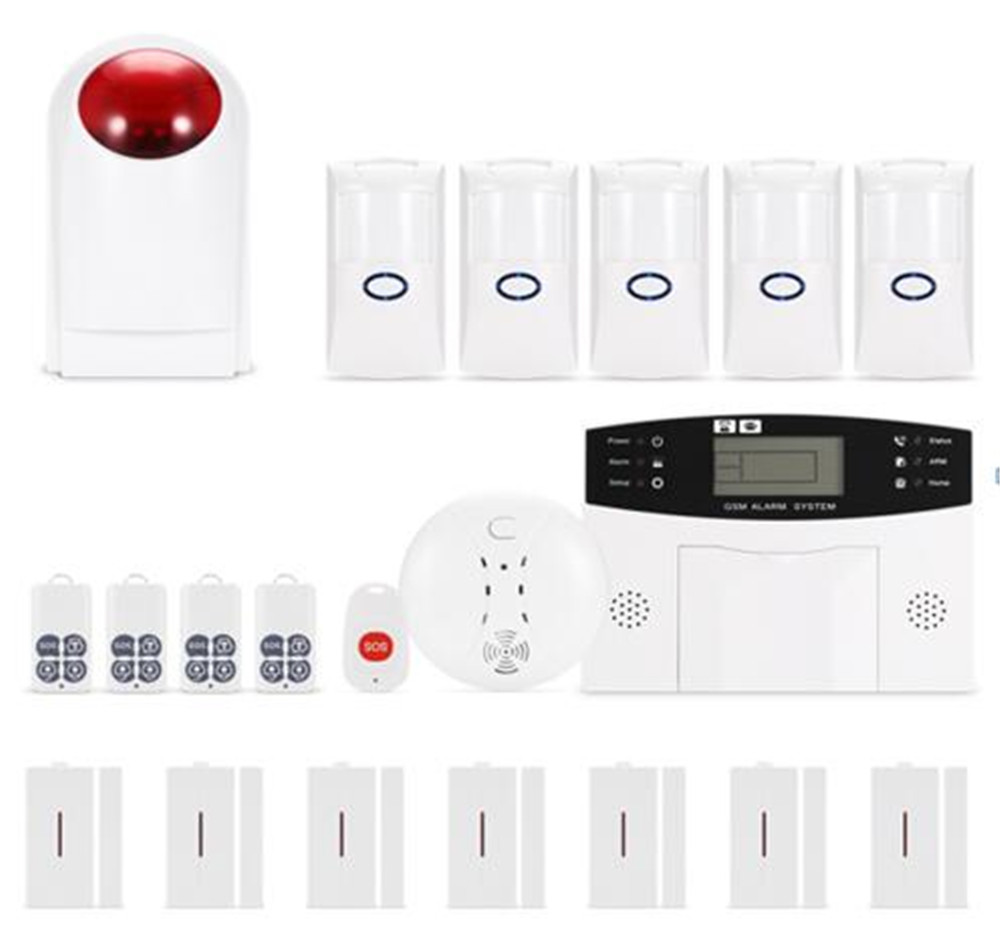 APP Remote Control GSM Alarm System With Pet Immune Sensor CS85-FC ...