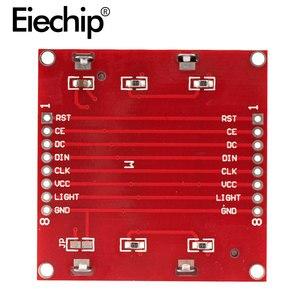 ЖК TFT дисплей модуль монитора белая подсветка адаптер PCB 84*48 84x48 для Nokia 5110 экран матричный цифровой для Arduino