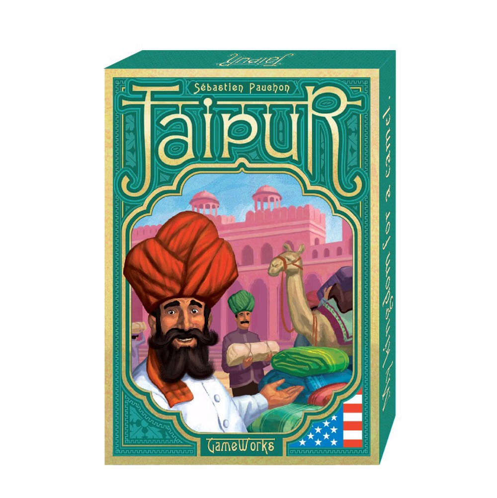 2017 new Full English Version board game Jaipur high quality best card game for family playing cards to 2 players