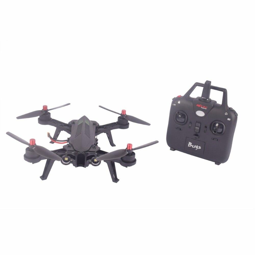 MJX Bugs 6 B6 RTF Brushless motor 2.4G FPV RC Quadcopter Drone High Speed flying-Black with camera google