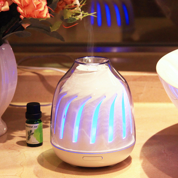 120ML Ultrasonic Essential Oil Diffuser Colorful Night Light Mist Maker Aroma Oil Diffuser Ultrasonic Air Humidifier Purifie
