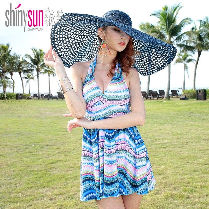 Buy SHINYSUN One Piece Swimsuit Women's Swimming Suit Push Padded Swimwear Monokini Sexy Body Suit 2017 New Bathing Suit kx1573