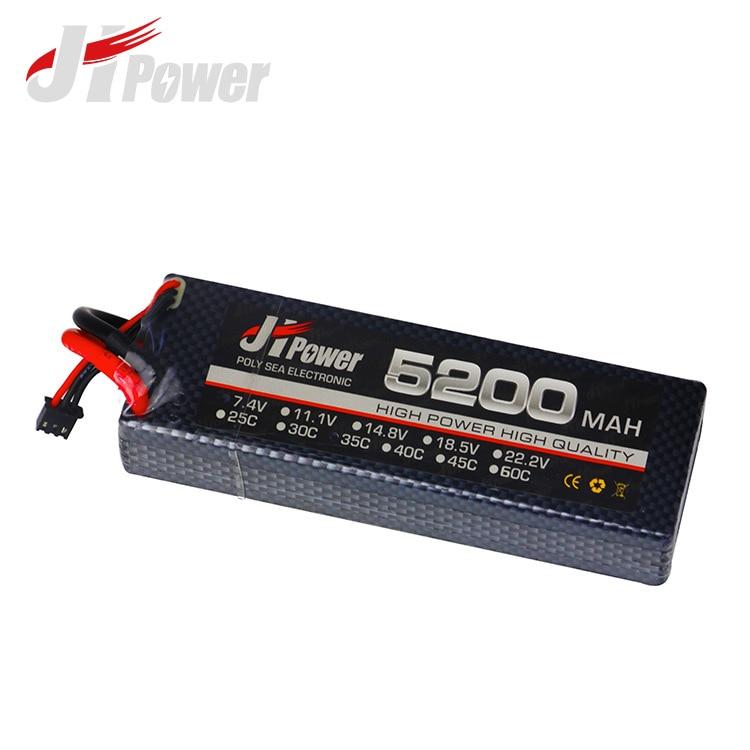 2 S RC LiPo batterie 7.4 V 5200 mAh 35C pour RC voiture télécommande jouets