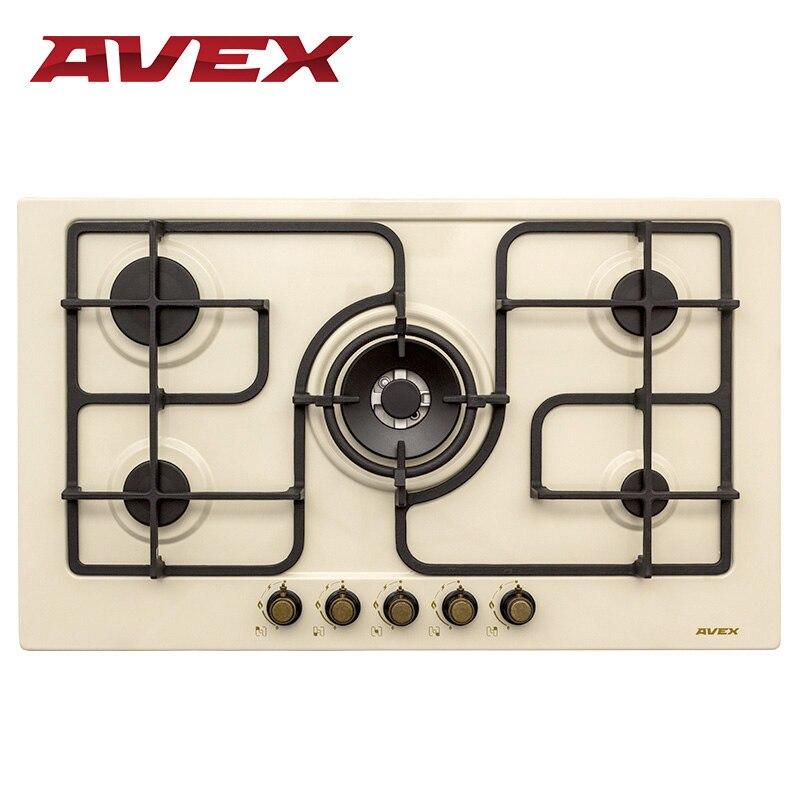Built in Hob gas AVEX FS-9052 RY built in hob electric avex ebm 604 ek