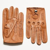 Male Genuine Leather Gloves Men Winter Genuine Leather Gloves Motorcycle Leather Gloves Deerskin Driver Gloves