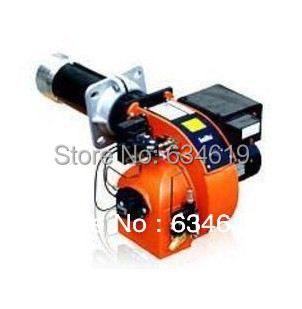 high quality 2(two) stage light diesel oil fired burner, industrial fuel oil burner mach ...