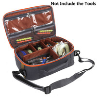 Maximumcatch Adjustable Six Compartments Waterproof Fly Fishing Bag Sling Bag Fishing Reel Pack