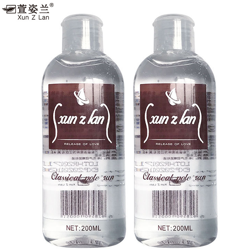200ML Lubricants oil Water soluble Easy To Clean gay anal sex lubricant Vagina massage penis oil